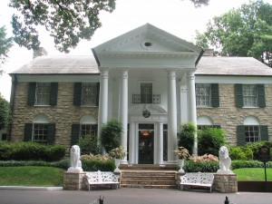 Graceland, the Elvis Presley mansion since 1957